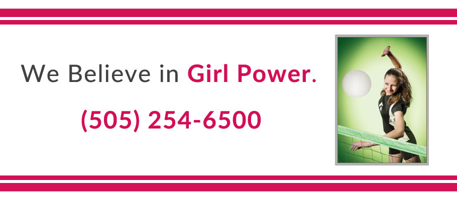 We Believe in Girl Power.