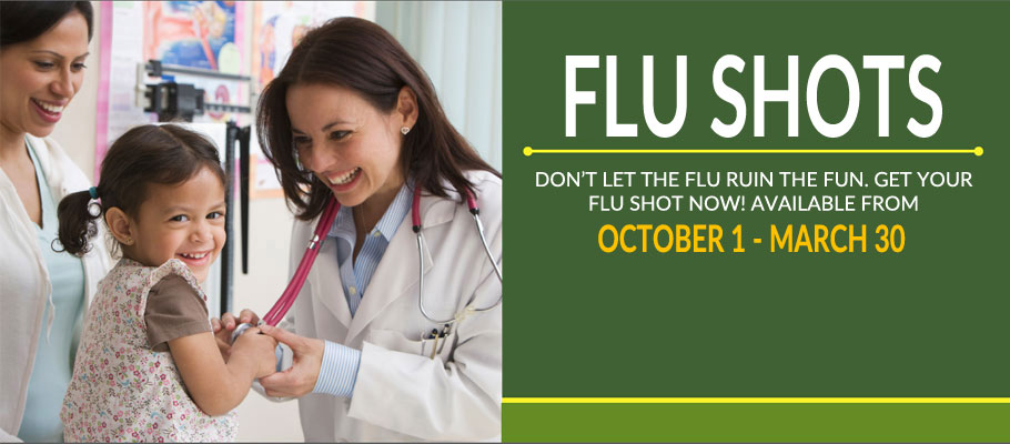 <p>FLU SHOTS</p>