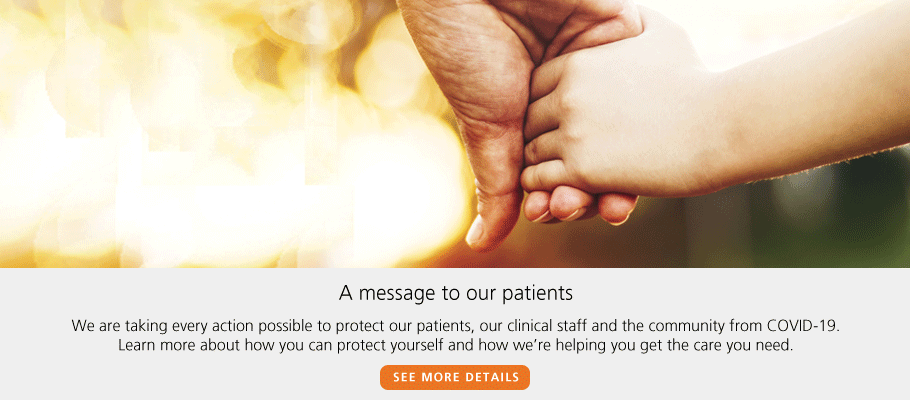 <p>A message to our patients</p>